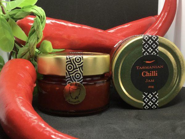 Chilli Jam in a jar